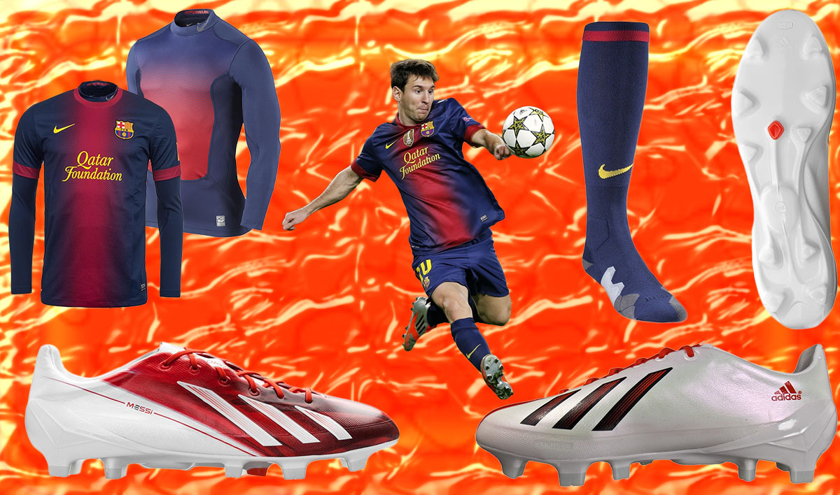 What Pros Wear Lionel Messi Cleats Socks Jersey